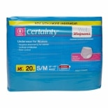 Walgreens Certainty Protective Underwear for Women Small/Medium