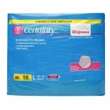 Walgreens Certainty Protective Underwear for Women Large
