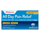 Walgreens All Day Pain Relief Caplets