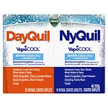 Vicks Dayquil Nyquil Severe Cold & Flu Relief Liquid Caps