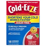 Cold-Eeze Lozenge, Sugar Free Cherry