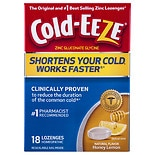 Cold-Eeze Lozenge Honey Lemon