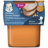 Gerber 2nd Foods Baby Food Sweet Potato & Turkey