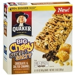 Quaker Big Chewy Chocolate & Salted Caramel
