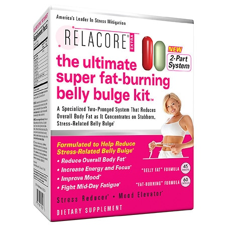 Weight Management Supplements Relacore The Ultimate Super Fat Burning Belly Bulge Kit