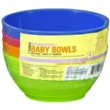 Sunny Smile Baby Bowls, Microwaveable Assorted