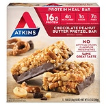 Atkins Advantage Meal Bars Chocolate Peanut Butter Pretzel