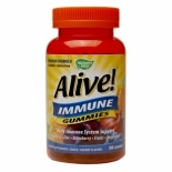 Nature's Way Alive! Immune Gummies Grape/Cherry