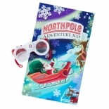 Hallmark Northpole Polar Explorer Goggles & Adventure Map