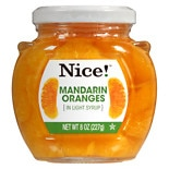 Nice! Mandarin Oranges In Light Syrup Jar