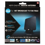 Clear TV Digital HD Antenna Black
