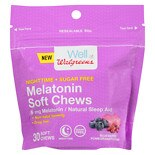 Walgreens Melatonin Sugar Free Chewables Blueberry Pomegranate