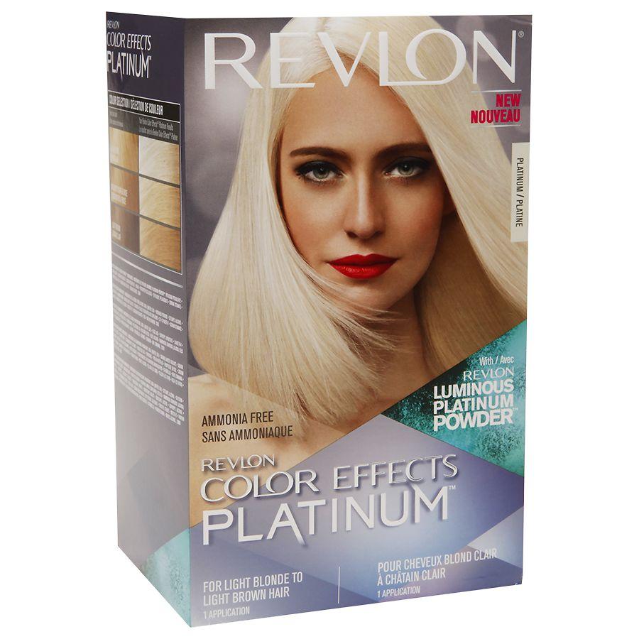 Colored Platinum: Revlon Color Effects Platinum