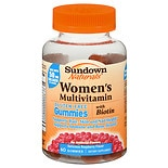 Sundown Naturals Women's Multivitamin with Biotin Gluten-Free Gummies