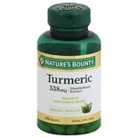 Nature's Bounty Turmeric 500mg, Capsules
