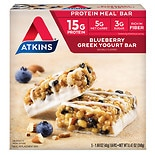 Atkins Meal Bars Blueberry Greek Yogurt