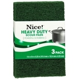 Nice! Heavy Duty Scouring Pads Green