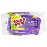 Scotch-Brite Scrub Sponges Stay Clean Purple
