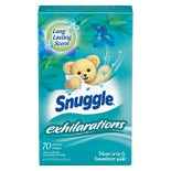 Snuggle Fabric Softener Sheets Blue Iris & Bamboo Silk