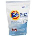 Tide PODS Laundry Detergent Free & Gentle