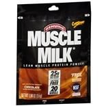 Muscle Milk Protein Powder Packet Chocolate