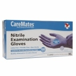 CareMates Nitrile Examination Gloves X-Large