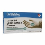 CareMates Latex-PF Examination Gloves X-Large