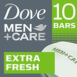 Dove Men+Care Extra Fresh Body + Face Bar 4 oz