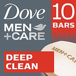 Dove Men+Care Deep Clean Body + Face Bar 4 oz