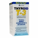 Absolute Nutrition Thyroid T-3 Stimulant Free, Capsules