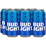Bud Light Beer 12 oz. Cans