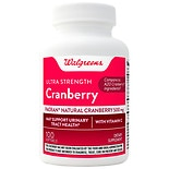 Walgreens Cranberry Ultra Strength With Vitamin C Softgels