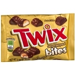 Twix Unwrapped Candy Bites King Size