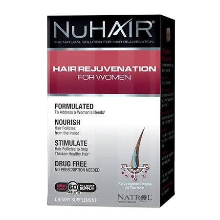 NuHair Hair Regrowth for Women Dietary Supplement Tablets
