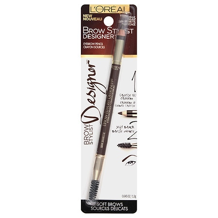L'Oreal Paris Brow Stylist Designer Eyebrow Pencil - 0.04 oz.