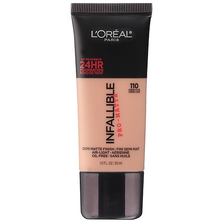 L'Oreal Paris Infallible Pro-Matte Up to 24 Hr Demi-Matte Finish Foundation