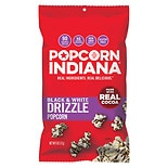 Popcorn, Indiana Popcorn Black & White Drizzled