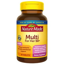 Multi For Her 50+ Dietary Supplement Tablets