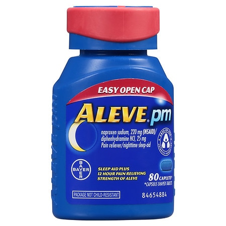 Aleve PM Easy Open Cap