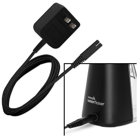 waterpik wp 462 cordless plus water flosser black walgreens. Black Bedroom Furniture Sets. Home Design Ideas