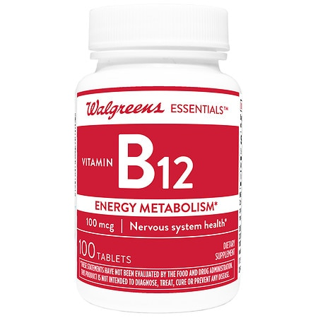 B12 pills for energy
