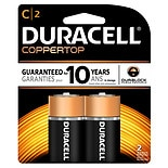 Duracell Coppertop Alkaline Batteries C