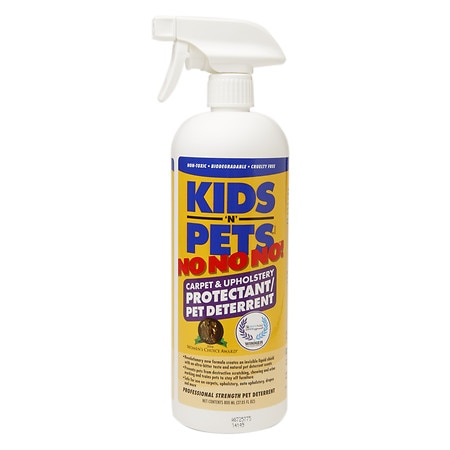 Kids'N Pets NO NO NO! Carpet & Upholstery Protectant