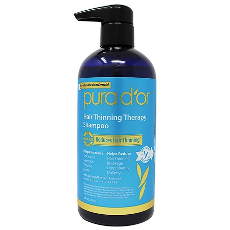Organic hair loss shampoo
