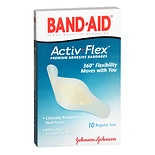 Band-Aid Activ Flex Premium Adhesive Bandages Regular