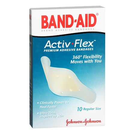 Band-Aid Activ-Flex Premium Adhesive Bandages Regular