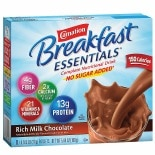 Carnation Breakfast Essentials Complete Nutritional Drink, No Sugar Added, Packets Rich Milk Chocolate