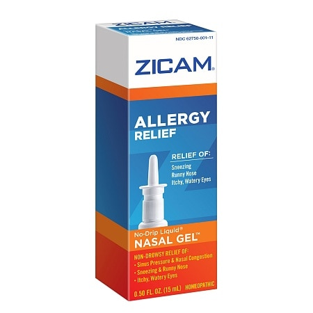 Zicam Allergy Relief Nasal Gel Swabs