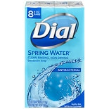 Dial Antibacterial Deodorant Bar Soap, 4 oz Bars Spring Water