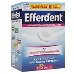 Save 15% or more on Efferdent denture products.